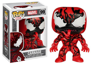 Pop! Marvel - Carnage (Hot Topic Exclusive) - Mom's Basement Collectibles