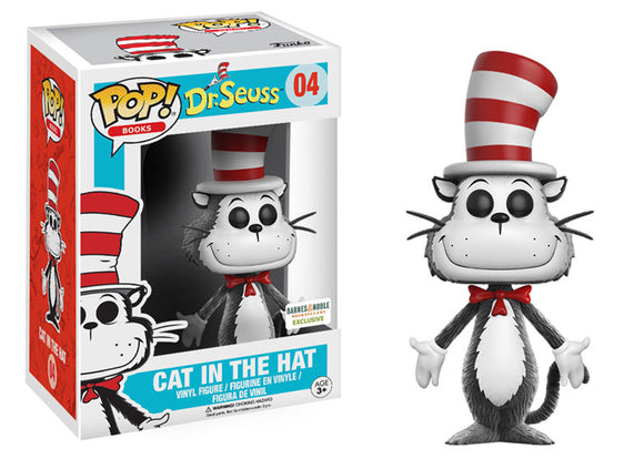 Pop! Books: Dr. Seuss - Cat In The Hat [Flocked] (Barnes & Noble Exclusive) - Mom's Basement Collectibles