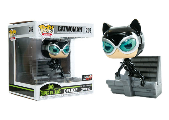 Pop! Heroes - Catwoman [Jim Lee] (Gamestop Exclusive) - Mom's Basement Collectibles