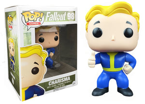 Pop! Games: Fallout - Charisma (Hot Topic Exclusive) - Mom's Basement Collectibles