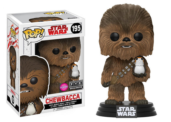 Pop! Star Wars - Chewbacca [Flocked] (FYE Exclusive) - Mom's Basement Collectibles