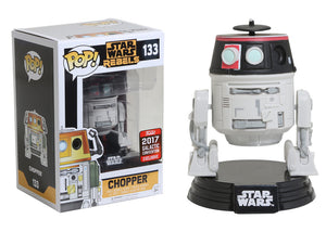 Pop! Star Wars - Chopper (Galactic Convention Exclusive 2017) - Mom's Basement Collectibles