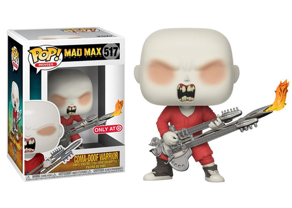 Pop! Movies: Mad Max Fury Road - Coma-Doof Warrior (Target Exclusive) - Mom's Basement Collectibles