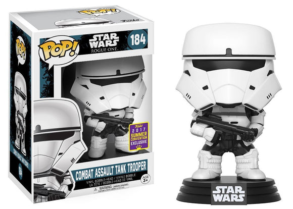 Pop! Star Wars - Combat Assault Tank Trooper (Summer Convention Exclusive 2017) - Mom's Basement Collectibles