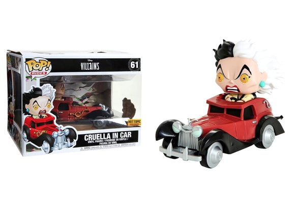 Pop! Rides - Cruella In Car (Hot Topic Exclusive) - Mom's Basement Collectibles