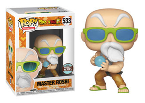 Pop! Animation: Dragon Ball Super - Master Roshi [Max Power] (Funko Specialty Exclusive) - Mom's Basement Collectibles