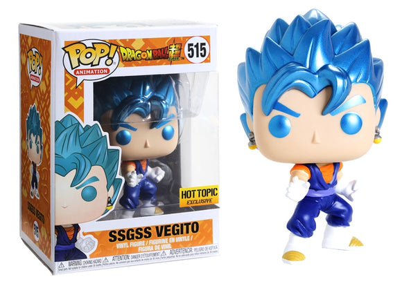 Pop! Animation: Dragon Ball Super - SSGSS Vegito (Hot Topic Exclusive) - Mom's Basement Collectibles