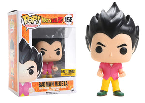 Pop! Animation: Dragon Ball Z - Badman Vegeta (Hot Topic Exclusive) - Mom's Basement Collectibles