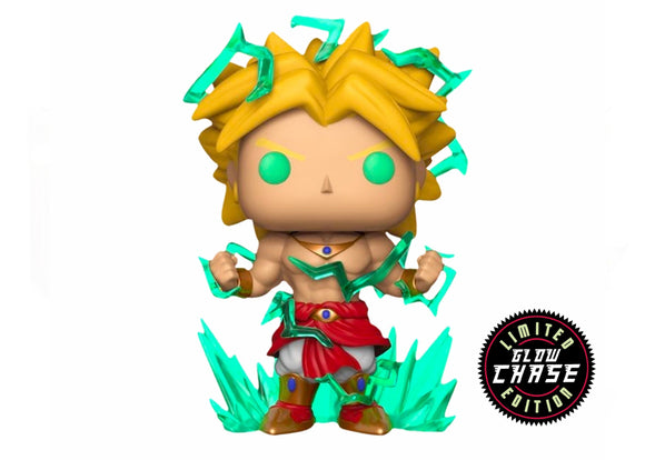Pop! Animation: Dragon Ball Z -  Legendary Super Saiyan Broly [6 Inch] (Galactic Toys Exclusive) CHASE - Mom's Basement Collectibles