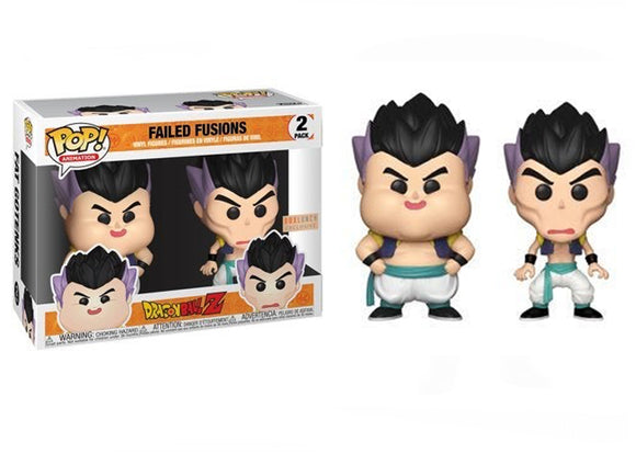Pop! Animation: Dragon Ball Z - Failed Fusions 2 Pack (Box Lunch Exclusive) - Mom's Basement Collectibles