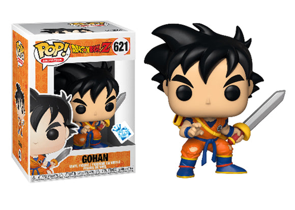Pop! Animation: Dragon Ball Z - Gohan [With Sword] (Funko Insider Club Exclusive) - Mom's Basement Collectibles