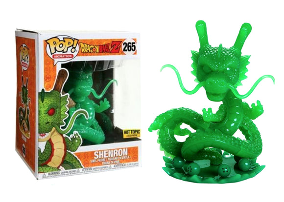 Pop! Animation: Dragon Ball Z - Shenron [Jade] (Hot Topic Exclusive) - Mom's Basement Collectibles