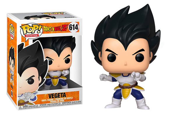 [PRE-ORDER] Pop! Animation: Dragon Ball Z - Vegeta [Pose] - Mom's Basement Collectibles