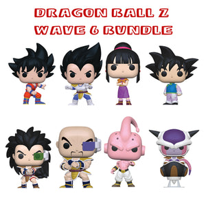 Bundle: Pop! Animation: Dragon Ball Z Wave 6 - Mom's Basement Collectibles