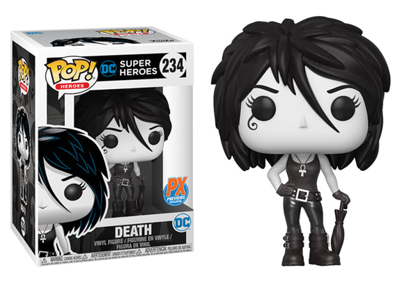 Pop! Heroes - Death (PX Exclusive) - Mom's Basement Collectibles