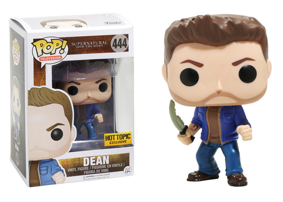 Pop! Television: Supernatural - Dean (Hot Topic Exclusive) - Mom's Basement Collectibles