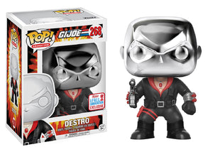 Pop! Animation: GI Joe - Destro (Fall Convention Exclusive 2017) - Mom's Basement Collectibles