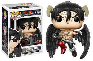 Pop! Games: Tekken - Devil Jin (Gamestop Exclusive) - Mom's Basement Collectibles