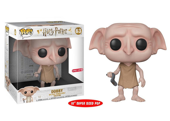 Pop! Harry Potter - Dobby [10 Inch] (Target Exclusive) - Mom's Basement Collectibles