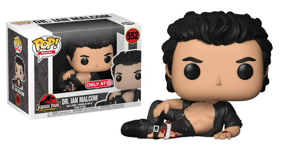 Pop! Movies: Jurassic Park - Dr. Ian Malcolm (Target Exclusive) - Mom's Basement Collectibles