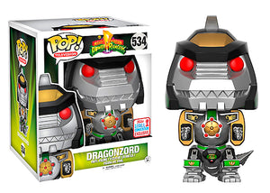 Pop! Television: Mighty Morphin Power Rangers - Dragonzord (Fall Convention Exclusive 2017) - Mom's Basement Collectibles