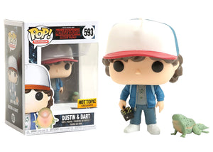 Pop! Television: Stranger Things - Dustin & Dart (Hot Topic Exclusive) - Mom's Basement Collectibles