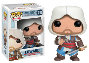 Pop! Games: Assassin's Creed IV: Black Flag - Edward - Mom's Basement Collectibles