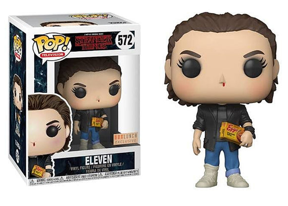 Pop! Television: Stranger Things - Eleven [Punk] (Box Lunch Exclusive) - Mom's Basement Collectibles
