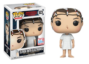Pop! Television: Stranger Things - Eleven [With Electrodes] (Fall Convention Exclusive 2017) - Mom's Basement Collectibles