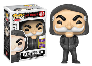 Pop! Television: Mr. Robot - Elliot Masked (Summer Convention Exclusive 2017) - Mom's Basement Collectibles