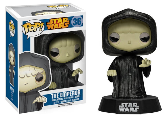 Pop! Star Wars - Emperor Palpatine - Mom's Basement Collectibles