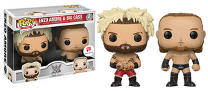 Pop! WWE - Enzo Amore & Big Cass 2 Pack (Walgreens Exclusive) - Mom's Basement Collectibles