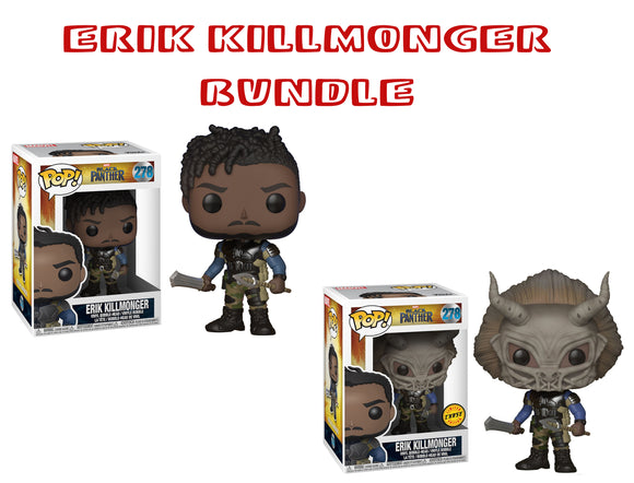 Bundle: Pop! Marvel: Erik Killmonger CHASE – Mom's ...