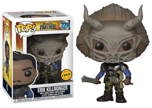 Pop! Marvel: Black Panther - Erik Killmonger (Chase) - Mom's Basement Collectibles