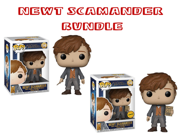 Bundle: Pop! Crimes Of Grindlewald - Newt Scamander CHASE - Mom's Basement Collectibles