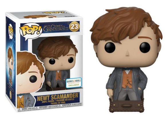 Pop! Crimes of Grindlewald - Newt Scamander w/ Case (Barnes & Noble Exclusive) - Mom's Basement Collectibles