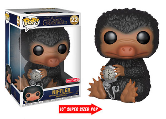 Pop! Crimes of Grindelwald - Niffler [10 Inch] (Target Exclusive) - Mom's Basement Collectibles
