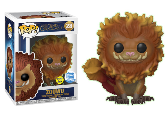 Pop! Crimes of Grindlewald - Zouwu [Glow In The Dark] (Funko Shop Exclusive) - Mom's Basement Collectibles