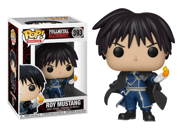 Pop! Animation: Fullmetal Alchemist - Roy Mustang - Mom's Basement Collectibles