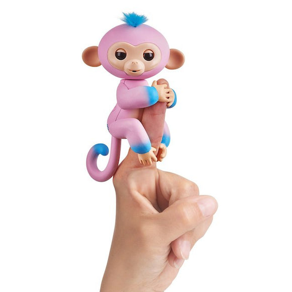 WowWee Fingerlings Interactive Baby Monkey Toy Candi - Mom's Basement Collectibles