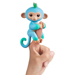 WowWee Fingerlings Interactive Baby Monkey Toy Charile - Mom's Basement Collectibles