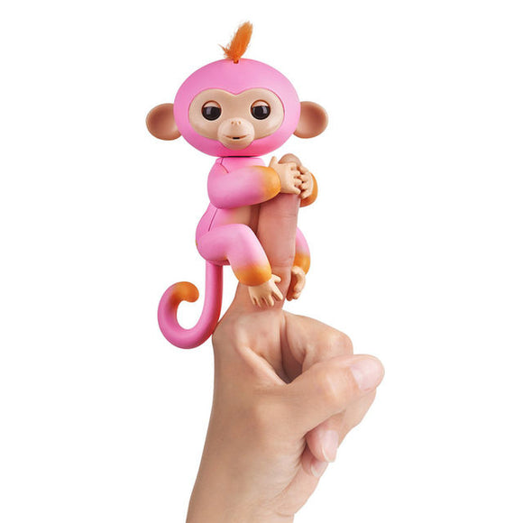 WowWee Fingerlings Interactive Baby Monkey Toy Summer - Mom's Basement Collectibles