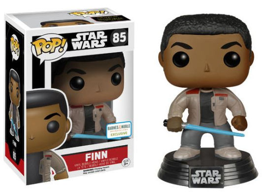 Pop! Star Wars - Finn [With Lightsaber] (Barnes & Noble Exclusive No Sticker) - Mom's Basement Collectibles
