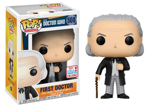 Pop! Television: Doctor Who - First Doctor (Fall Convention Exclusive 2017) *DAMAGED* - Mom's Basement Collectibles