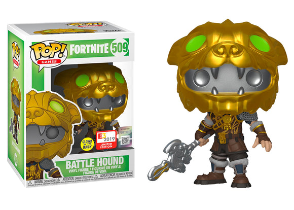 Pop! Games: Fortnite - Battle Hound [Glow In The Dark] (E3 2019 Exclusive) - Mom's Basement Collectibles