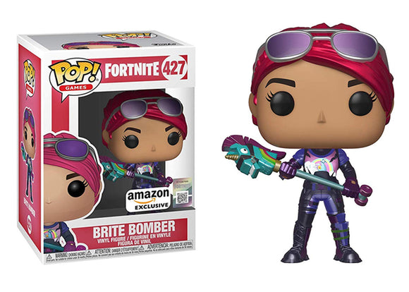 Pop! Games: Fortnite - Brite Bomber (Amazon Exclusive) - Mom's Basement Collectibles