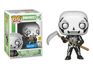 Pop! Games: Fortnite - Skull Trooper [Glow In The Dark] (Walmart Exclusive) - Mom's Basement Collectibles