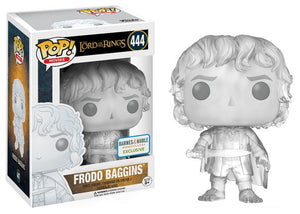 Pop! Movies: Lord of the Rings - Frodo Baggins [Invisible] (Barnes & Noble Exclusive) - Mom's Basement Collectibles