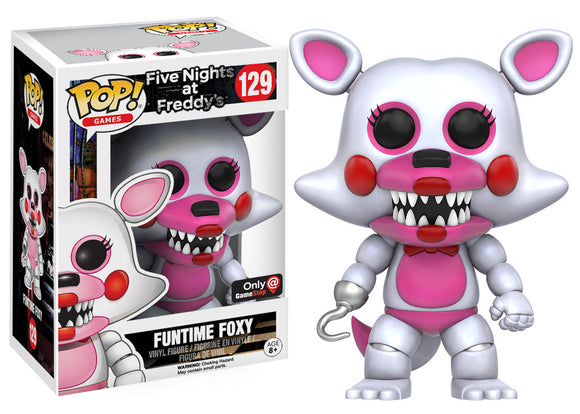 Pop! Games: Five Nights at Freddy's - Funtime Foxy (Gamestop Exclusive) - Mom's Basement Collectibles