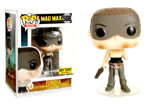 Pop! Movies: Mad Max Fury Road - Furiosa (Hot Topic Exclusive) - Mom's Basement Collectibles